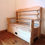 ספסל איחסון מעץ מלא
