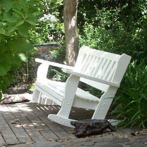 ספסל מתנדנד – למשטחים קשים