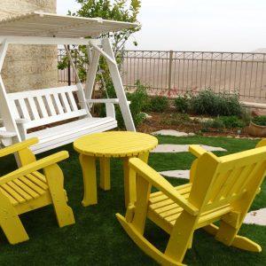 כיסאות נדנדה לגינה ולמרפסת BeLLo 37