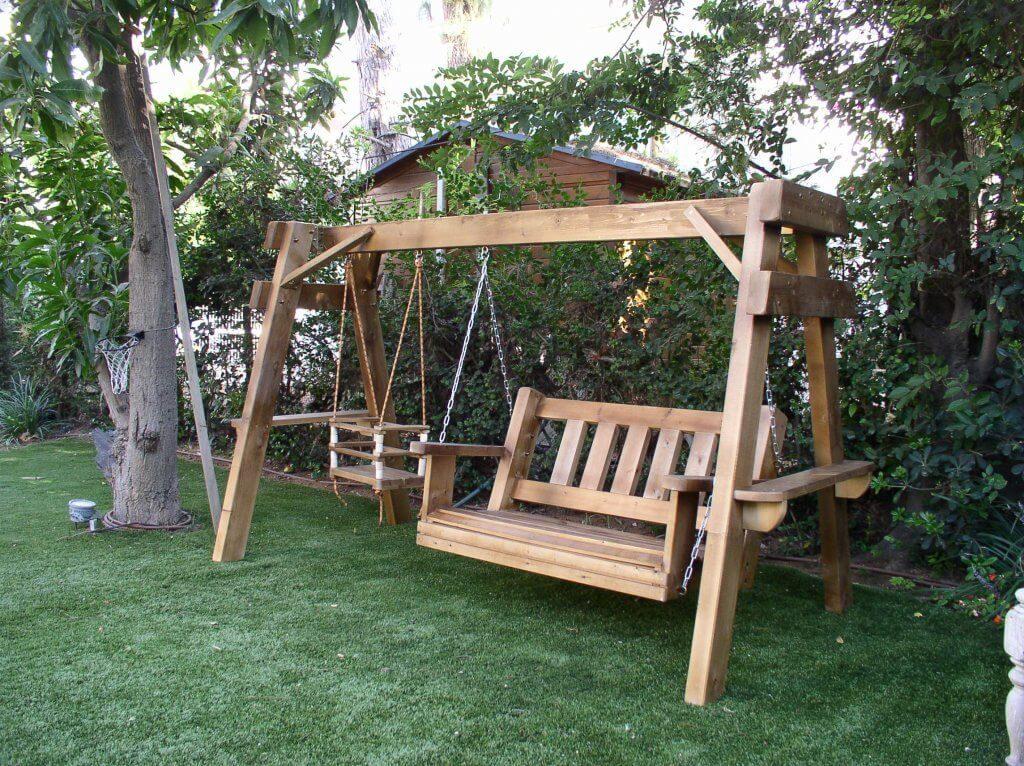 ריהוט גן מעץ