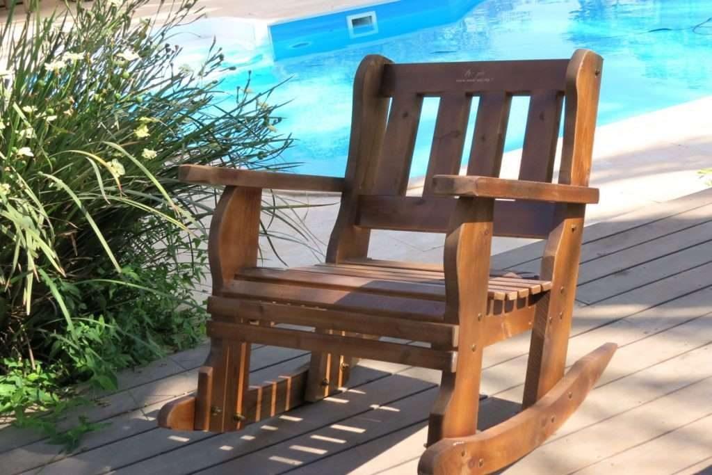 כיסא נדנדה גדול