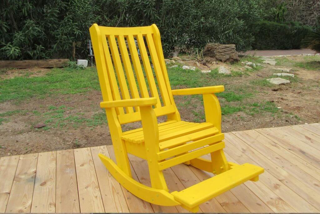 כיסא נדנדה בצפון